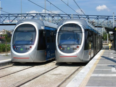 Athens Tram: Modern tramway in greater Athens - Greece