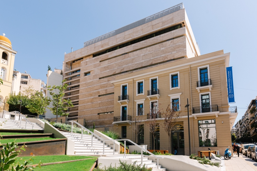 """The Museum of Contemporary Art of the """"Basil & Elise Goulandris Foundation"""", in Athens, Greece"""