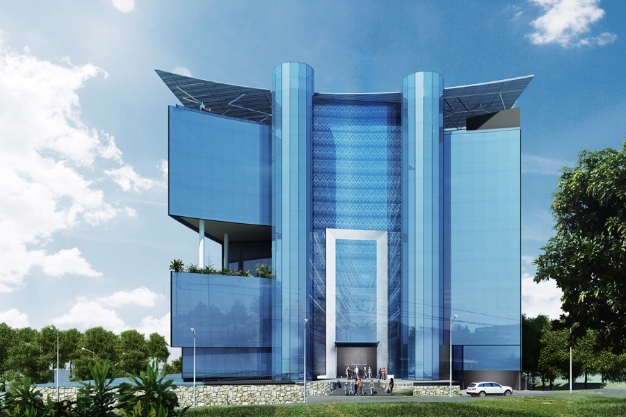 I Amp M Bank Head Quarters Nairobi Kenya Projects